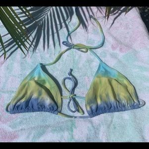 Vintage No Boundaries Bathing Suit Bikini Top